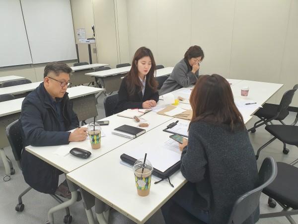 하노이 응엔짜이대학교 산업디자인학과 교육과정 개설 3차 자문회의 개최 관련이미지