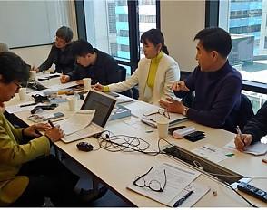 맞춤형 남성정장 스마트 서비스 시범매장 구축사업 1차 자문회의